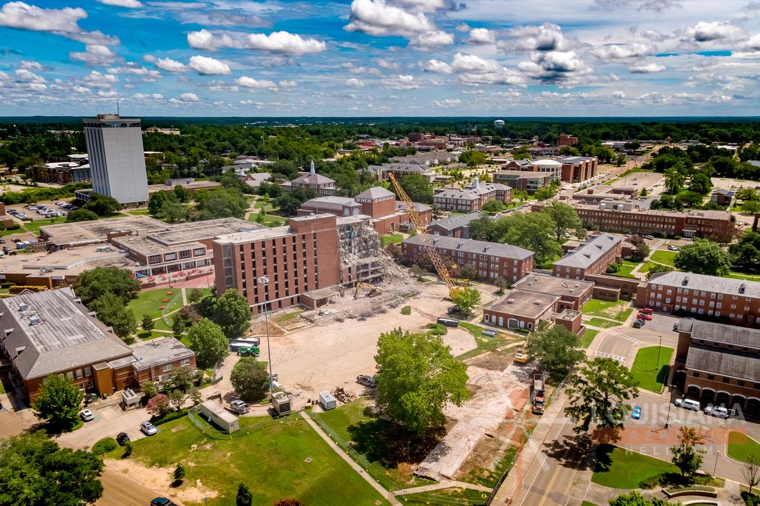 July 2020 shots of Louisiana Tech University